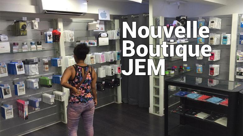 Nouvelle boutique : JEM
