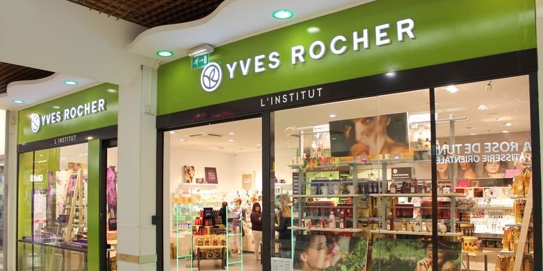 B yves rocher centre commercial le merlan for Centre boutique