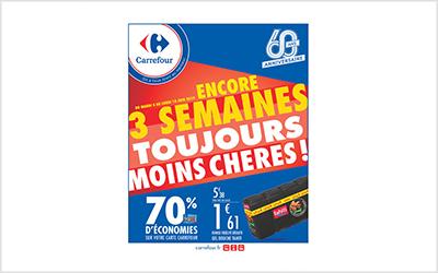 Carrefour 3 semaines MOINS chères