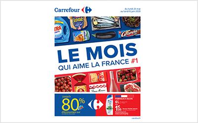 Carrefour le mois qui aime la France