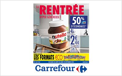 Carrefour Rentrée 2018