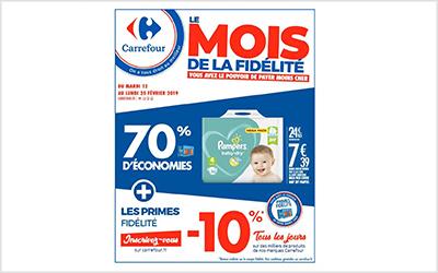 Carrefour le mois de la fidélité