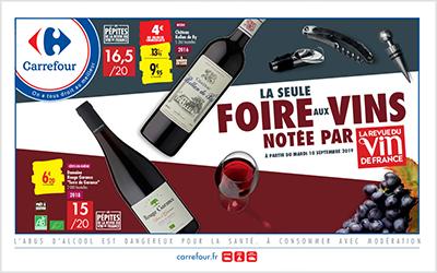 Carrefour Foire aux Vins