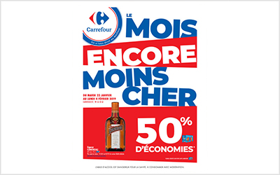 Carrefour le mois encore moins cher