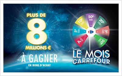 Le mois Carrefour
