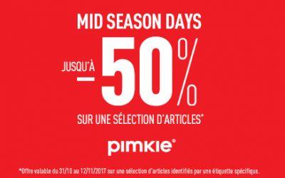 PIMKIE – MID SEASON DAYS