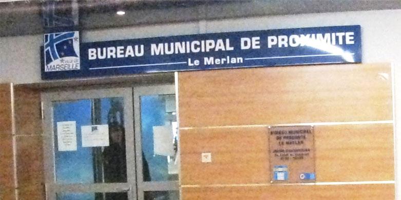 S bureau municipal de proximité centre commercial le merlan